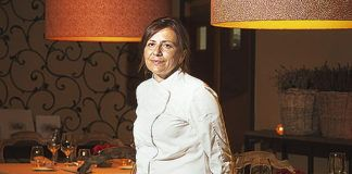 Esther Manzano. Chef