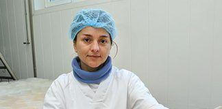 Lucía Menéndez, quesería La Figar, Morcín