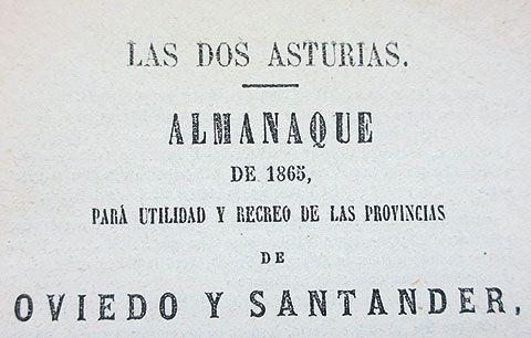 Almanaque de Les Asturies
