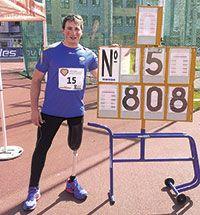 David Fernández consiguió la marca de 8,08 metros en lanzamiento de peso, cuando el récord de España es de 8,52 m.