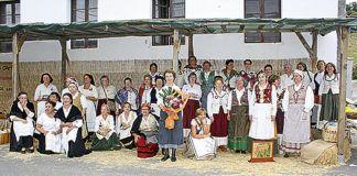 Integrantes de la Asociación en el Festival de la Lana