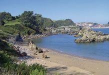Playa de Huelgues. Carreño