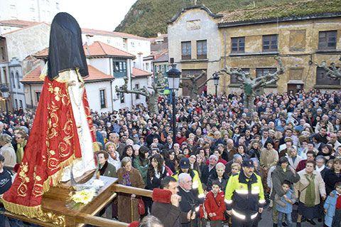Procesión de la Virgen del Rosario