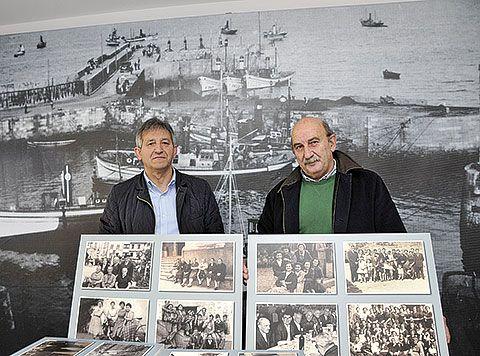 Tito Aramendi (izda.) y José Antonio González (dcha.)