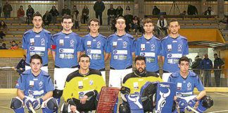 C.P. Areces de Primera División Nacional 2014/15 en el polideportivo de Grado