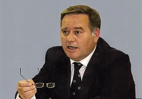 Delfín Cuervo, presidente de la Asociación de Empresarios de Asipo.