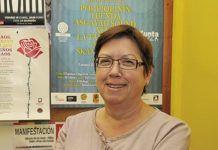 Carmen Prado. Presidenta de SOS Racismu Asturies