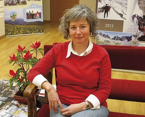 Dulce Martínez Erigoyen. Concejala de Turismo, Cultura y Deportes