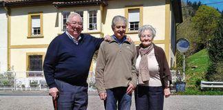 Luis Álvarez, Mario Fernández y Mª Yolanda Pérez