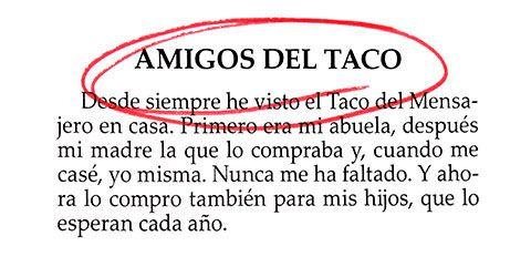 Amigos del taco
