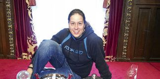 Ana Temprano. Guardameta profesional de balonmano