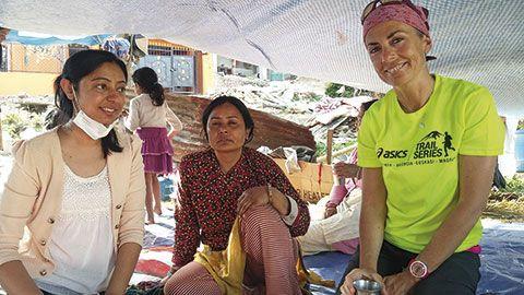 María Climent. Gerente de SOS Himalaya