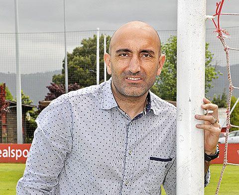 Abelardo. Entrenador del Sporting