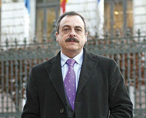 Arsenio Valbuena Presidente del Colegio de Ciencias Políticas y Sociología de Asturias