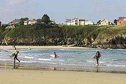 Surfistas en Tapia