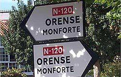 Todos los caminos conducen a Orense.