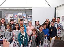 Participantes en el VIII Concurso de Diseño de Marcapáginas (Navia)