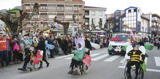 Desfile del Centro Don Orione en Posada de Llanes