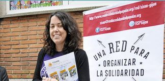Xana Reyes promotora de Red Solidaridad Popular
