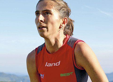 Marta Escudero. Campeona de Asturias 2014 en carreras de montaña