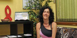 Loly Fernández. Presidenta del Comité Anti-SIDA de Asturias