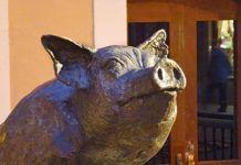 Monumento al Gochu. Noreña