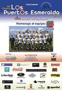 Cartel de la prueba ciclista Puertos Esmeralda