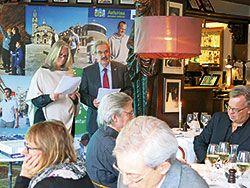 Presentación de Asturias en Estocolmo. Febrero 2015.
