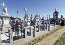 Cementerio de La Carriona, en Avilés