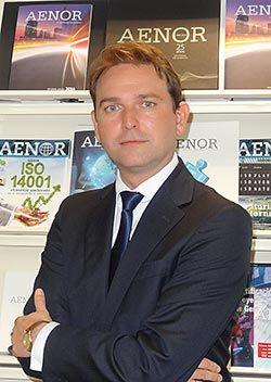 Juan Lucas García, responsable de Aenor en Asturias