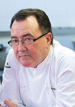 Pedro Morán. Cocinero