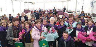 Homenaje en el Día Internacional de la Mujer Rural.