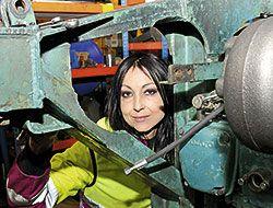 Beatriz Cabero, mecánica
