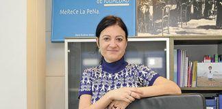 Almudena Cueto. Directora del Instituto Asturiano de la Mujer