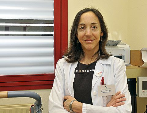 Amelia Carro. Cardióloga