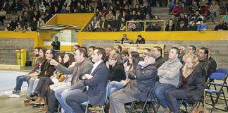 Comisión de Deportes, Concejales y Presidentes de Clubes Deportivos