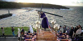 Procesión del Nazareno en Luarca