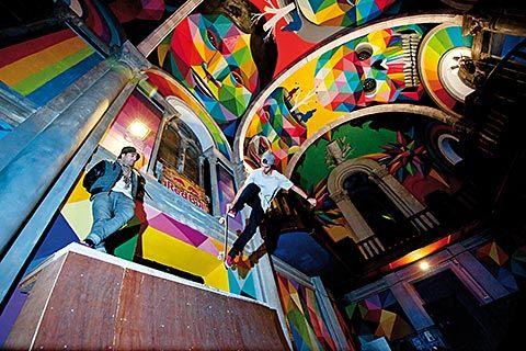 Iglesia Skate en el polígono industrial de Asipo (Llanera)