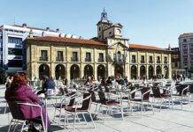 Plaza de España. Avilés