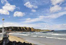 Playa de Salinas. Castrillón