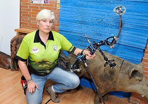 Pilar Alvarez Barbón, campeona de España de Recorridos de Bosque
