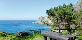 Entorno de la playa de Torbas (Coaña)