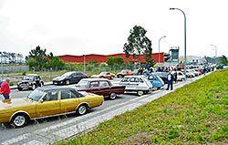 II Concentración de Vehículos el Polígono de Río Pinto (Coaña)