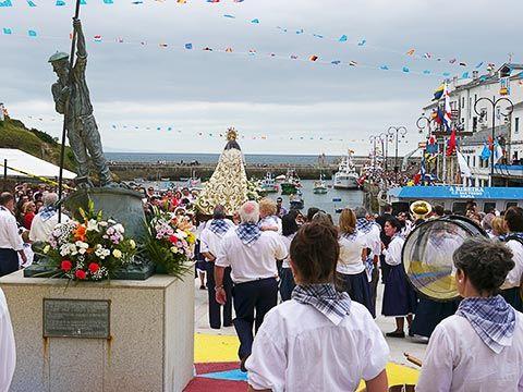 Fiestas del Carmen en Tapia de Casariego