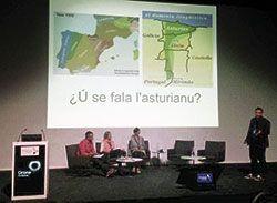 L'asturianu ye exemplu n'Europa