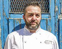 Bruno Lombán, cocinero de Ribadesella
