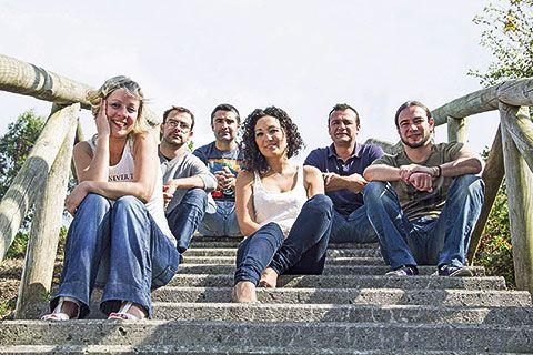 Grupo de folk riosellano Corquiéu
