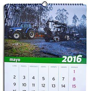 Calendario solidario de los ganaderos-bomberos de El Franco
