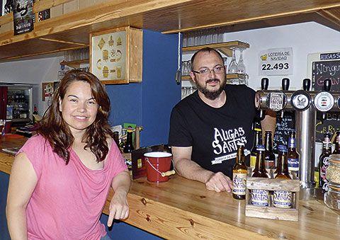 Marcos Martínez y Mariela Iriarte en Foz
