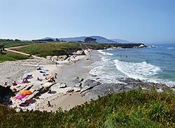 Playa de Peizás, Foz (Lugo)
